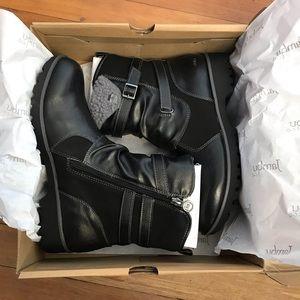 NIB Jambiu &Co Leather Ankle Boots